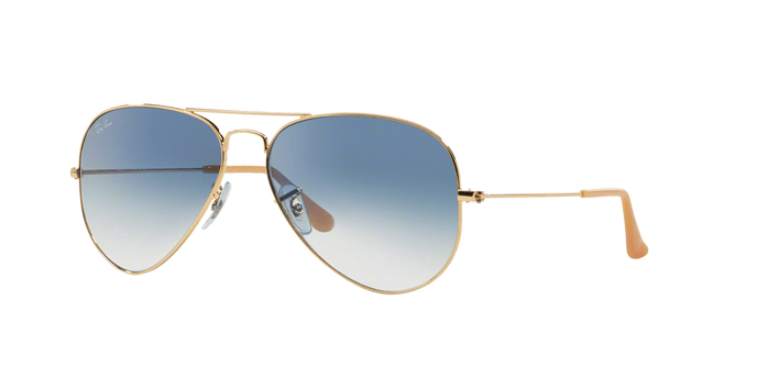 Ray Ban RB3025 Aviator Large Metal 0013F
