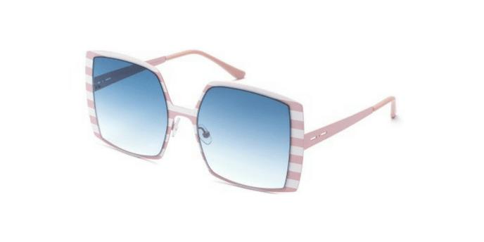 Italia Independent I-METAL MARGARET 0518 0518.STR.016 Pink Stripes