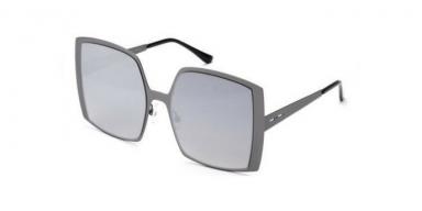 Italia Independent I-METAL MARGARET 0518 078.000 Gunmetal Mirrored grey lenses