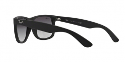 Ray Ban RB4165 JUSTIN 6018G RUBBER BLACK