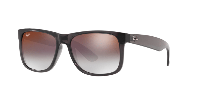 Ray Ban RB4165 JUSTIN 606U0 TRASPARENT GREY