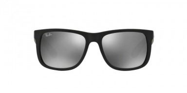 Ray Ban RB4165 JUSTIN 6226G RUBBER BLACK