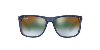 Ray Ban RB4165 JUSTIN 6341T0 TRASPARENT BLUE