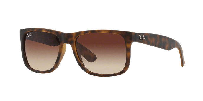 Ray Ban RB4165 JUSTIN 71013 RUBBER LIGHT HAVANA