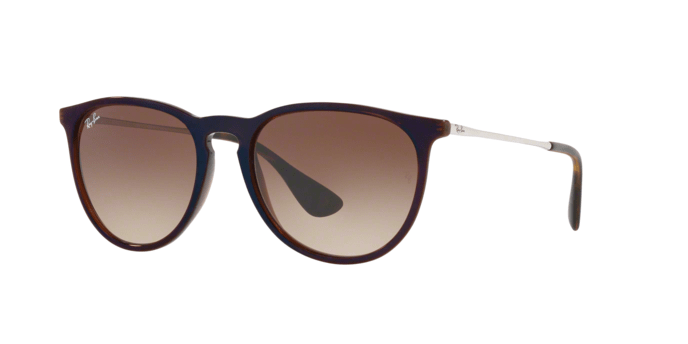 Ray Ban RB4171 ERIKA 631513 TRASPARENT BROWN SP BLUE
