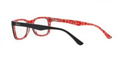 Ray Ban RX5228 2000 occhiali vista donna forma quadrata colore nero