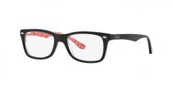 Ray Ban RX5228 2479 occhiali vista donna forma quadrata colore nero