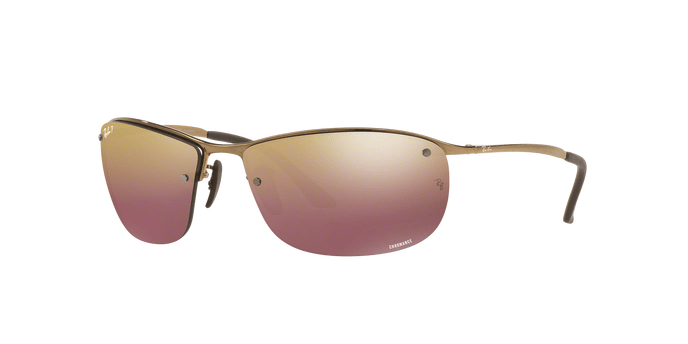 Ray Ban RB3542 1976B SHINY BROWN
