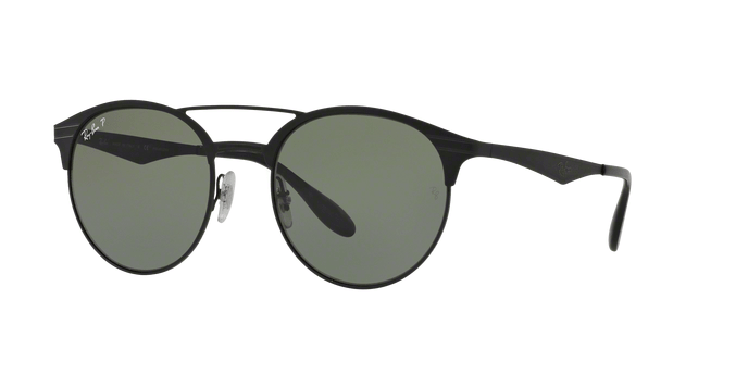 Ray Ban RB3545 1869A SHINY BLACKTOP MATTE BLACK