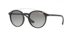 VO5161S W44/11 occhiale da sole donna, forma montatura phantos colore nero e lenti grigie sfumate.
