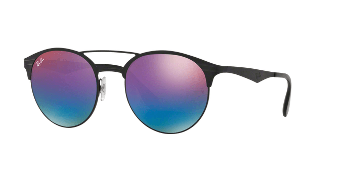 Ray Ban RB3545 186B1 BLACKMATTE BLACK