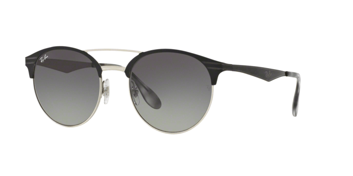 Ray Ban RB3545 900411 TOP BLACK ON SILVER