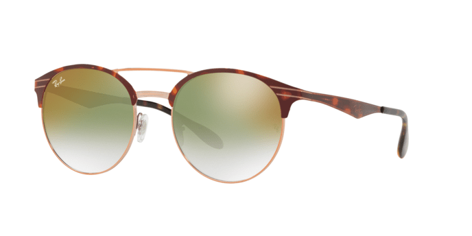 Ray Ban RB3545 9074W0 COPPER ON TOP HAVANA