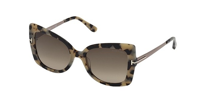 Occhiali da sole donna Tom Ford Gianna FT0609 55K 2018 Butterfly