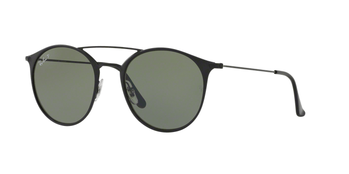 Ray Ban RB3546 186 BLACK TOP MATTE BLACK