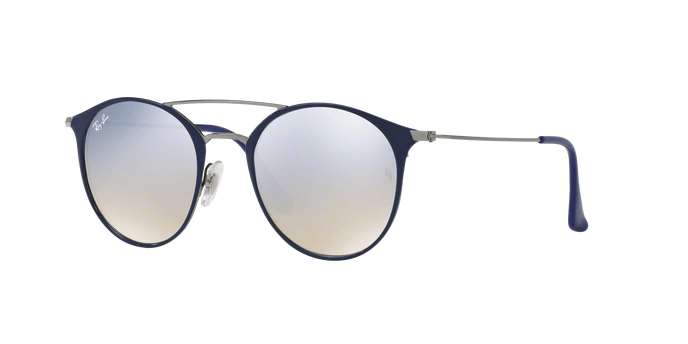Ray Ban RB3546 90109U GUNMETAL TOP BLUE