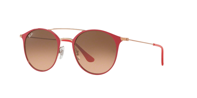 Ray Ban RB3546 907271 COPPER ON TOP RED