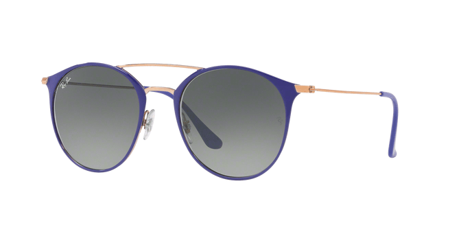 Ray Ban RB3546 9073A5 COPPER ON TOP VIOLET