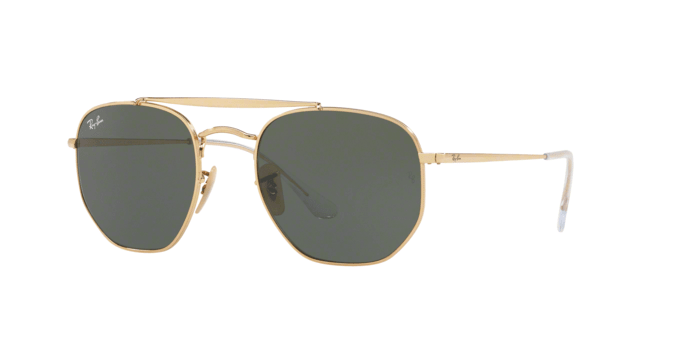 Ray Ban The Marshall RB3648 oro lenti verdi
