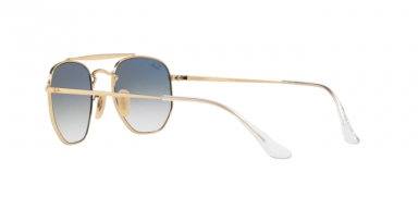 Ray Ban The Marshall RB3648 gold lenti blu sfumate
