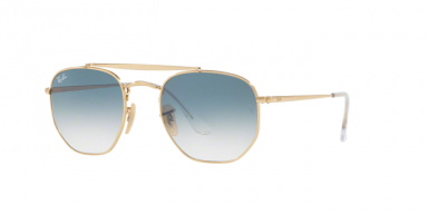 Ray Ban The Marshall RB3648 gold blue