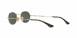 Ray Ban RB3547N  OVAL 001 GOLD