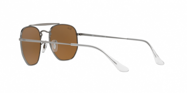 occhiali da sole Ray Ban The Marshall RB3648 lenti marroni