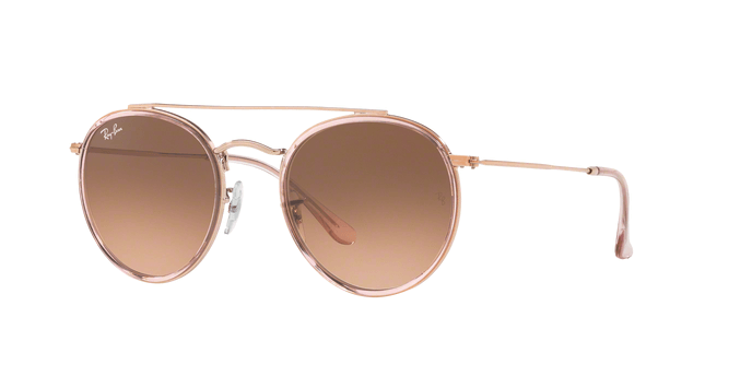 Ray Ban Round Double Bridge RB3647N 9069A5