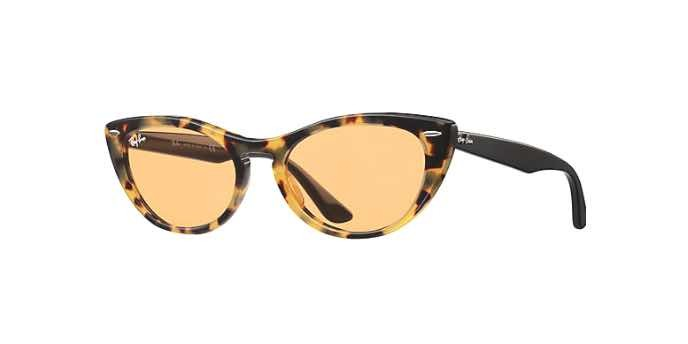 Occhiali da sole cat-eye donna Nina Kraviz X Ray Ban Nina 4314N 12483L