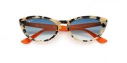 Occhiali da sole cat-eye donna Nina Kraviz X Ray Ban Nina 4314N 12693F