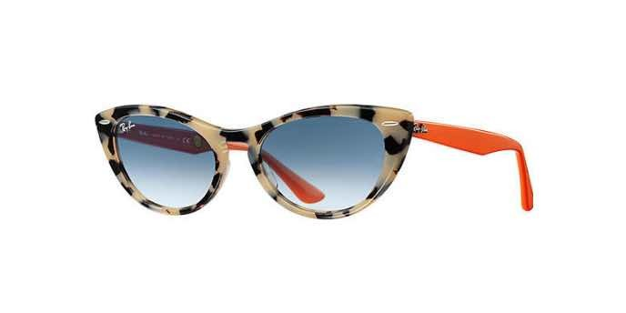 Occhiali da sole cat-eye donna Nina Kraviz X Ray Ban Nina 4314N 12693F