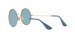 Ray Ban Ja Jo RB3592 001/F7 Gold Frame Blue Lenses