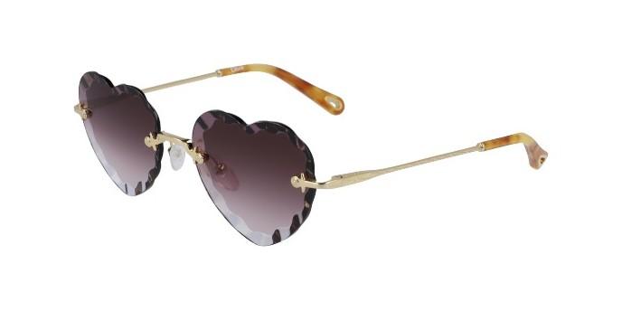 Occhiali da sole Chloé Rosie CE150S 840 con lenti a cuore | Promozione