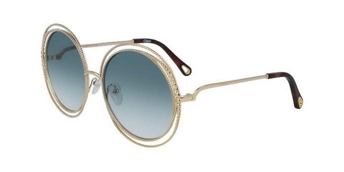 Occhiali da sole Chloé Carlina Chain CE114SC 838 | Saldi -30%