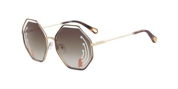 Occhiali da sole Chloé Poppy CE132SRI Esagonali |Promozioni Chloé Sole