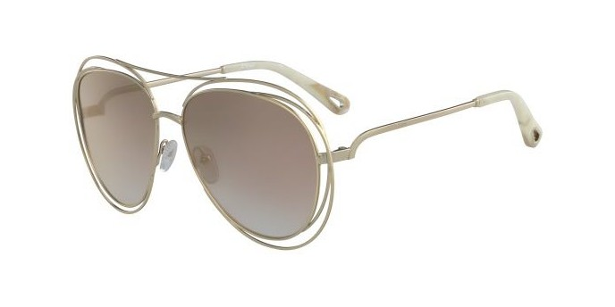 Occhiali da sole Chloé Carlina Aviator CE134S 794|Saldi Occhiali Chloé
