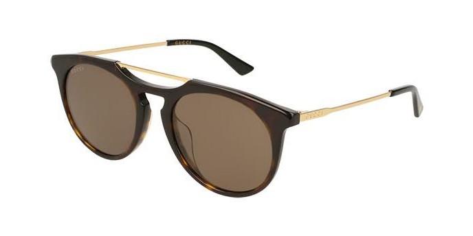 Occhiali da Sole Uomo Gucci | Occhiali Gucci Rotondi GG0320S 003VG