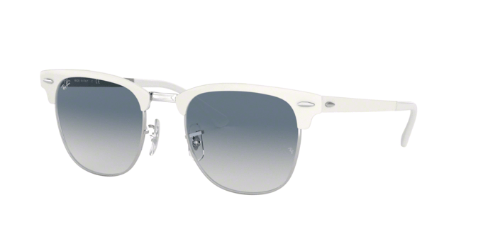 Ray Ban RB3716 Silver On White 90883F