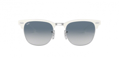 Ray Ban RB3716 Silver On White