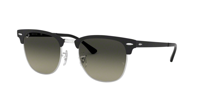Ray Ban RB3716 SILVER ON TOP MATTE BLACK 911871